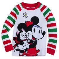 Minnie Mouse Holiday PJ Set for Girls