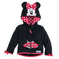 Image of Minnie Mouse Hooded Fleece Jacket for Baby - Walt Disney World # 1