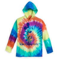 Image of Mickey Mouse Tie-Dye Hoodie T-Shirt for Kids - Walt Disney World # 1