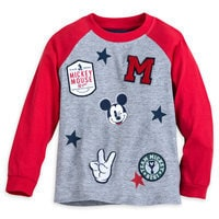 Mickey Mouse Patch T-Shirt for Boys