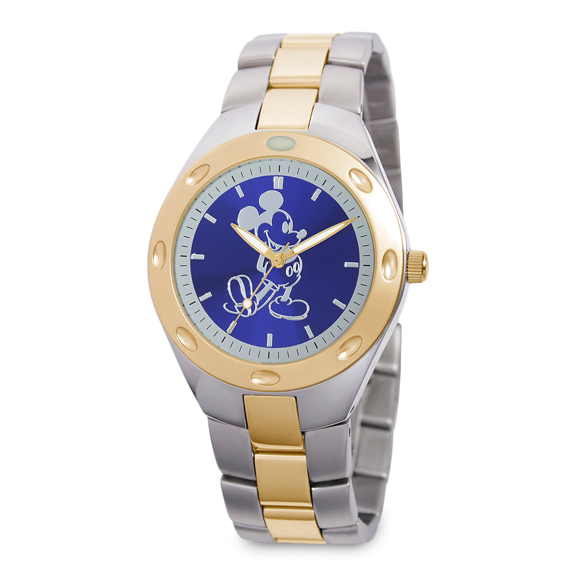 Mickey Mouse Two-Tone Watch - Adults