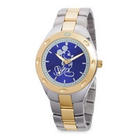 Image of Mickey Mouse Two-Tone Watch - Adults # 1