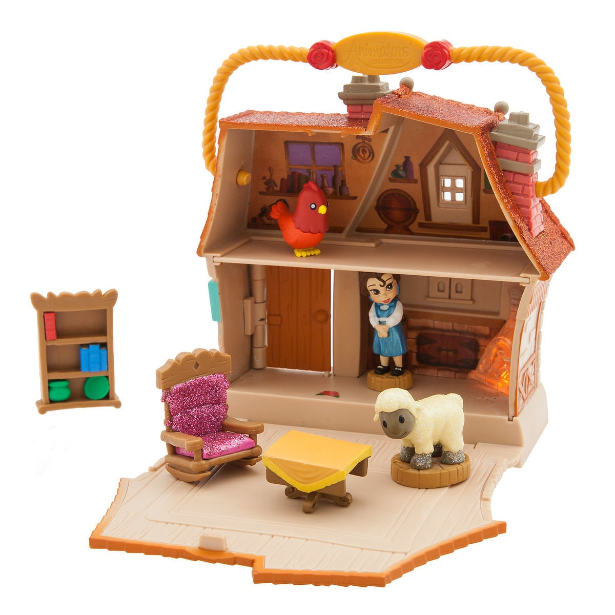 Disney Animators\' Little Collection Belle Surprise Feature Playset ...