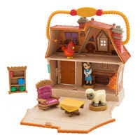 Image of Disney Animators' Little Collection Belle Surprise Feature Playset # 1