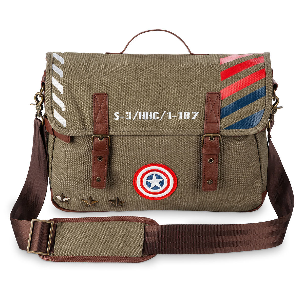 Product Image of Captain America Military Messenger Bag   1 f3e833c74d4
