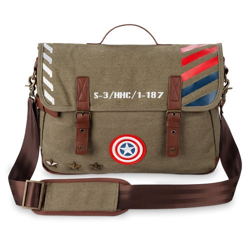 Captain America Military Messenger Bag Shopdisney
