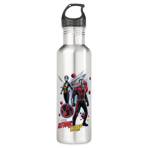 Ant-Man and The Wasp: Pym Particles Badge Stainless Steel Water Bottle - Customizable