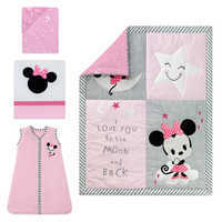 Image of Minnie Mouse Crib Bedding Set by Lambs & Ivy # 1