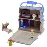 Image of Disney Animators' Little Collection Arendelle Castle Surprise Feature Playset - Frozen # 1