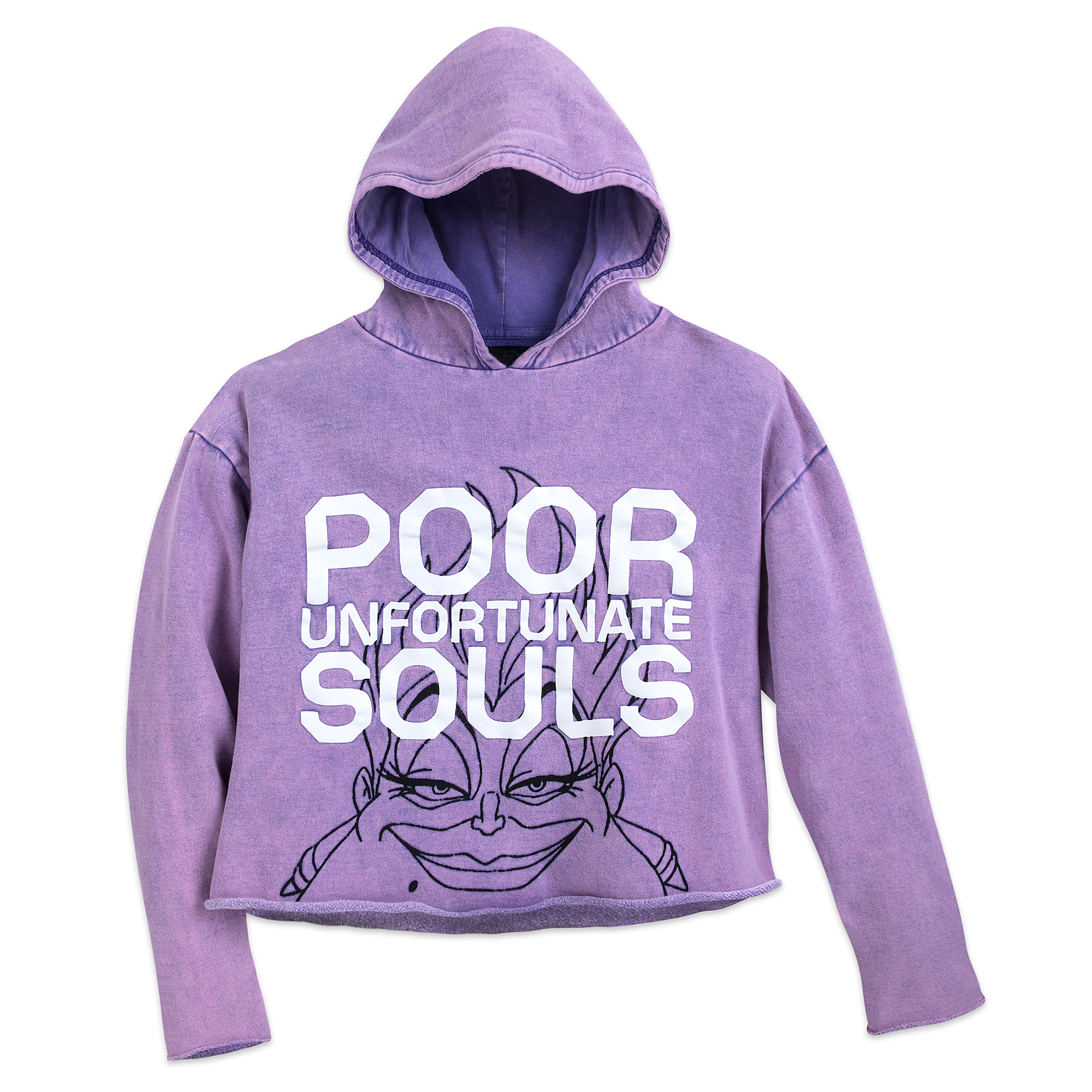 Ursula Cropped Hoodie for Women - Oh My Disney
