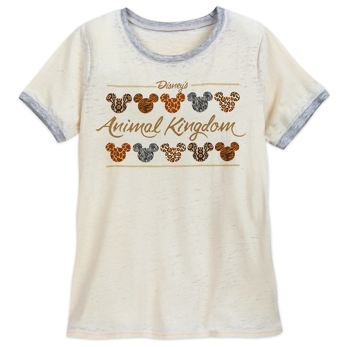 ceb49095 Product Image of Mickey Mouse Animal Print Icons T-Shirt for Women - Disney's  Animal