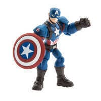 Image of Captain America Action Figure - Marvel Toybox # 1