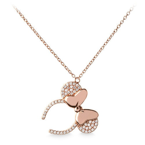 Minnie Mouse Ear Headband Necklace by Rebecca Hook