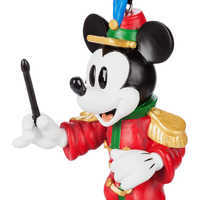 Image of Mickey Mouse Through the Years Sketchbook Ornament Set - The Band Concert - March - Limited Release # 3