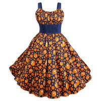 Image of Orange Bird Dress for Women # 1