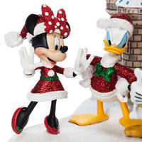 Image of Mickey Mouse and Friends at Cinderella Castle Holiday Figure - Walt Disney World # 3