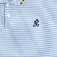 Image of Mickey Mouse Polo for Men by Nike - Indigo # 3