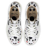 Image of Mickey Mouse Silver Sneakers for Women by Master of Arts # 2