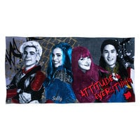 Image of Descendants Beach Towel - Personalizable # 1