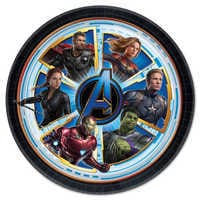 Image of Marvel's Avengers: Endgame Lunch Plates # 1