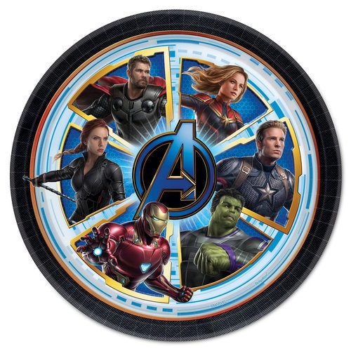 Marvel's Avengers: Endgame Lunch Plates