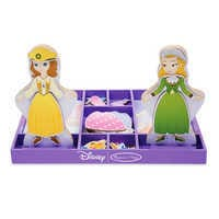 Image of Sofia the First & Princess Amber Wooden Magnetic Dress-Up Playset by Melissa & Doug # 1