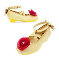 Image of Belle Costume Shoes for Kids # 1