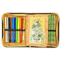 Image of Mickey Mouse and Friends Safari Zip-Up Stationery Kit - Disney's Animal Kingdom # 1