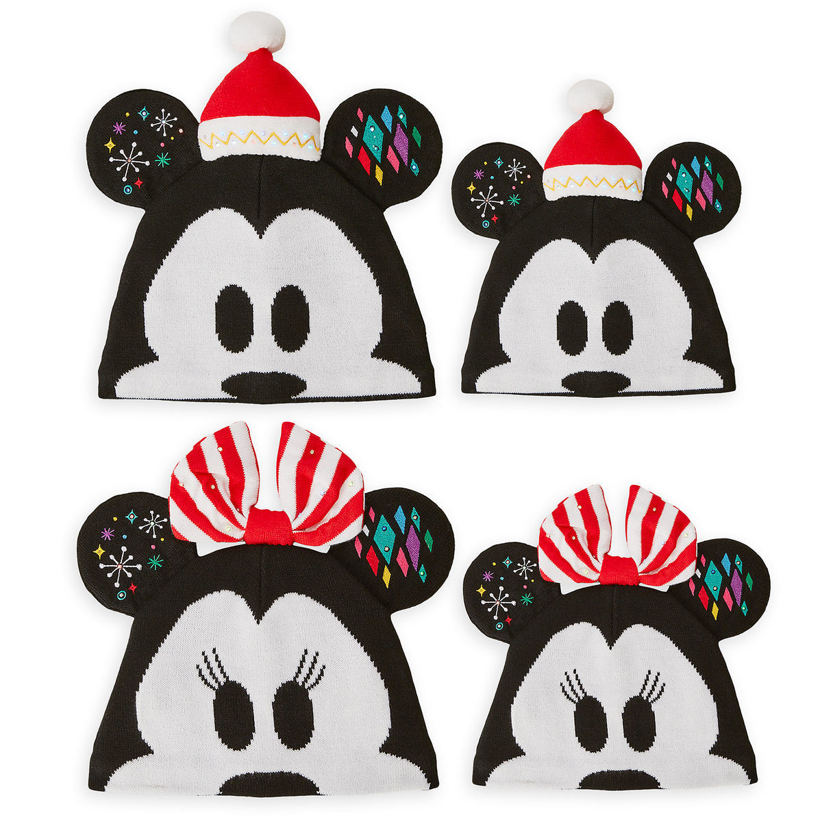 Product Image of Mickey and Minnie Mouse Ear Hat Collection for Family # 1