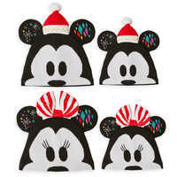 Image of Mickey and Minnie Mouse Ear Hat Collection for Family # 1