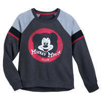 Image of Mickey Mouse Club Raglan Pullover for Women # 1
