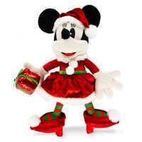 Image of Minnie Mouse Holiday Plush - Medium # 1