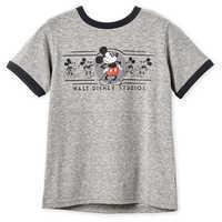 Image of Mickey Mouse Ringer T-Shirt for Boys - Walt Disney Studios # 1