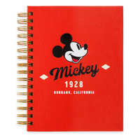Image of Mickey Mouse Journal with Sticky Notes # 1