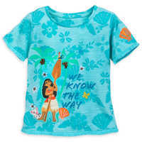 Image of Moana Top and Skirt Set for Girls # 2