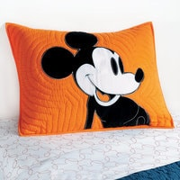 Image of Mickey Mouse Color Block Mickey Sham by Ethan Allen # 1
