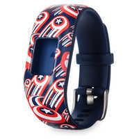 Image of Captain America Garmin vivofit jr. 2 Accessory Adjustable Band # 2
