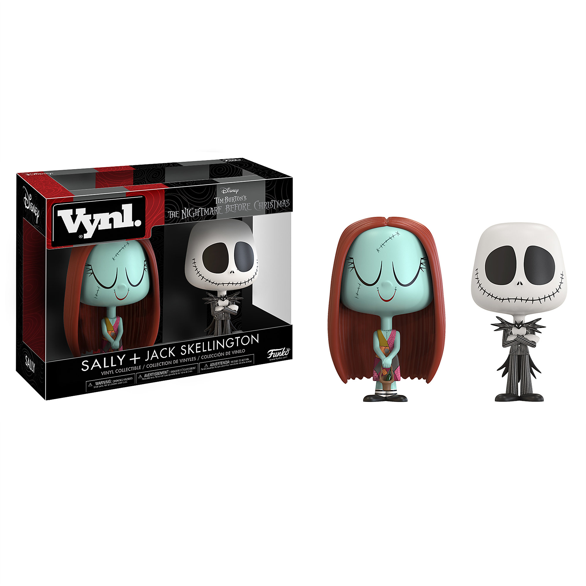 Jack Skellington and Sally Vinyl Figure Set - Funko