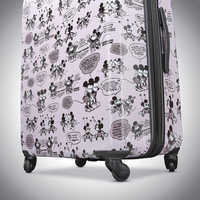 Image of Mickey and Minnie Mouse Rolling Luggage by American Tourister - Small # 5