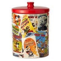 Image of Mickey Mouse Poster Art Collage Kitchen Canister # 4