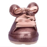 Image of Mickey Mouse Sneakers for Kids by Melissa - Rose Gold # 3