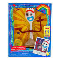 Image of Forky Interactive Talking Action Figure - Toy Story 4 - 7 1/4'' # 4