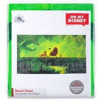 Image of Hakuna Matata Beach Towel - The Lion King - Oh My Disney # 3