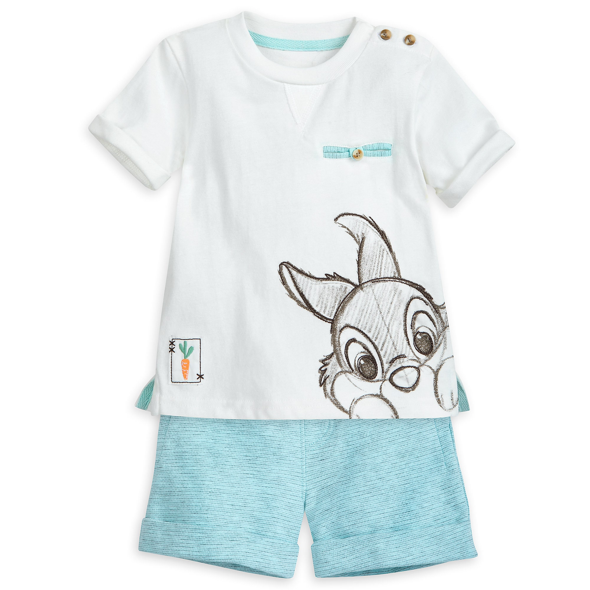 Thumper Layette Shorts Set for Baby