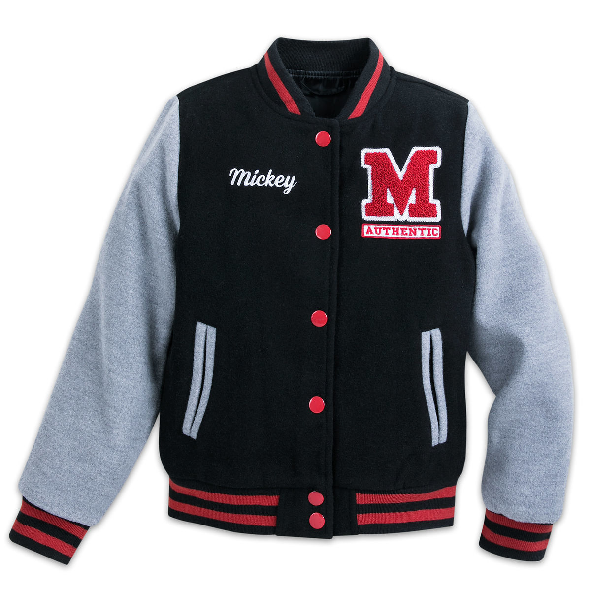 Mickey Mouse Letterman Jacket For Kids Shopdisney