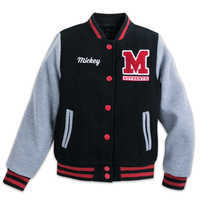 Image of Mickey Mouse Letterman Jacket for Kids # 1