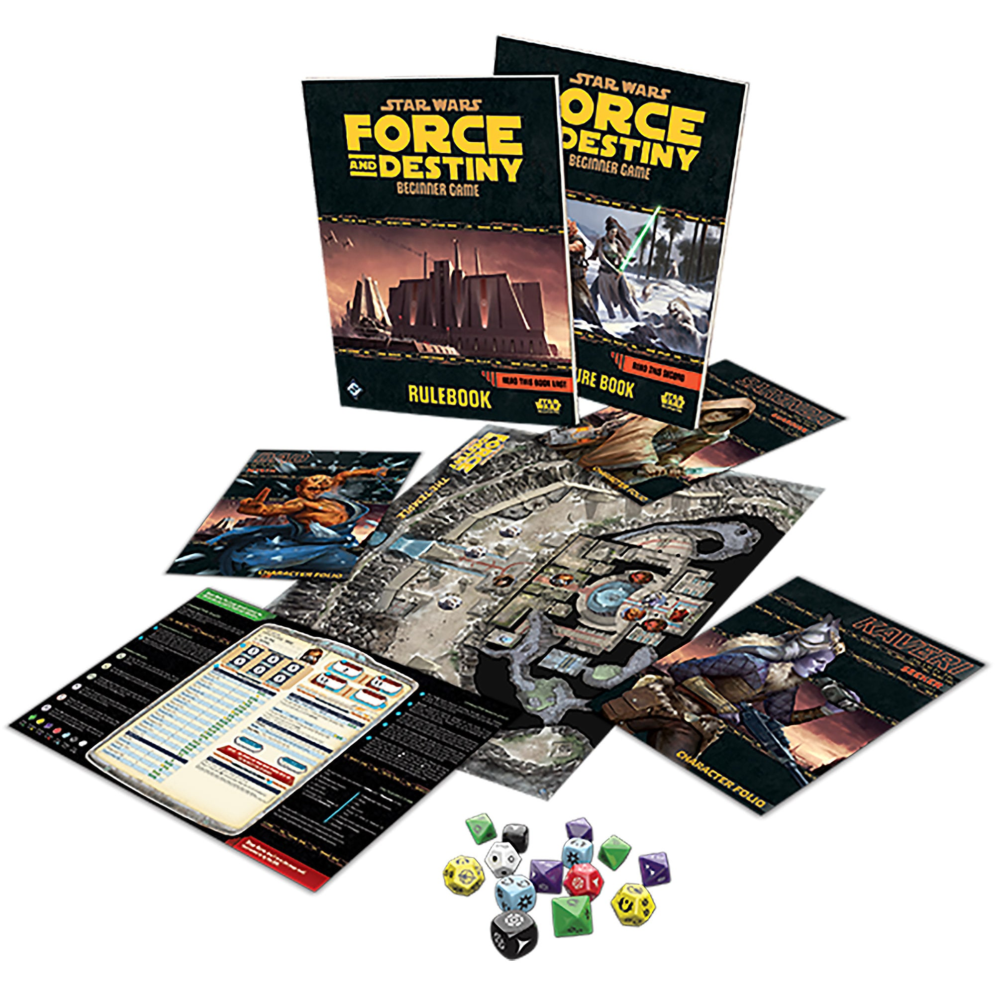 Star Wars: Force and Destiny Beginner Game