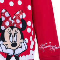 Image of Minnie Mouse Sequined Hoodie for Girls # 3