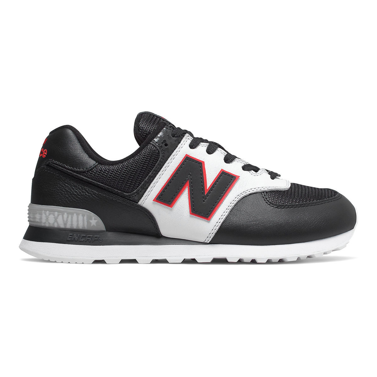 Product Image of Mickey Mouse 90th Anniversary 574 Sneakers for Adults by  New Balance # 1