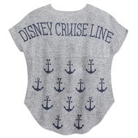 Disney Cruise Line T-Shirt by Spirit Jersey for Women - Gray